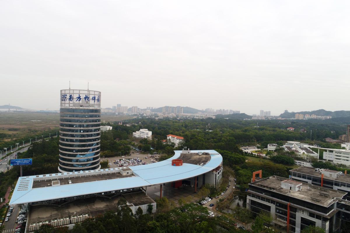 图为珠海南方软件园。