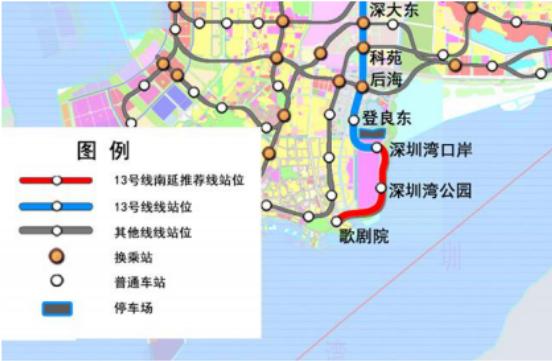 深圳11条拟建地铁线站点曝光,这条直通东莞|附线路图