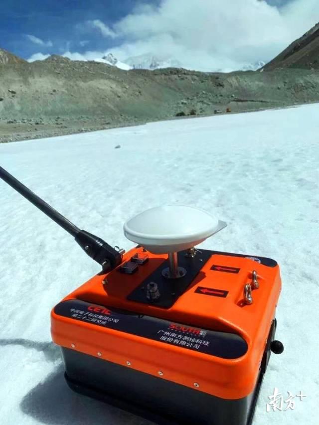 高原冰雪探测雷达系统。图片由受访者提供