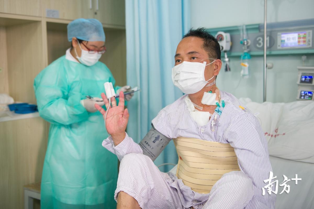 受苦的人接纳心脏移植后感觉不错。
