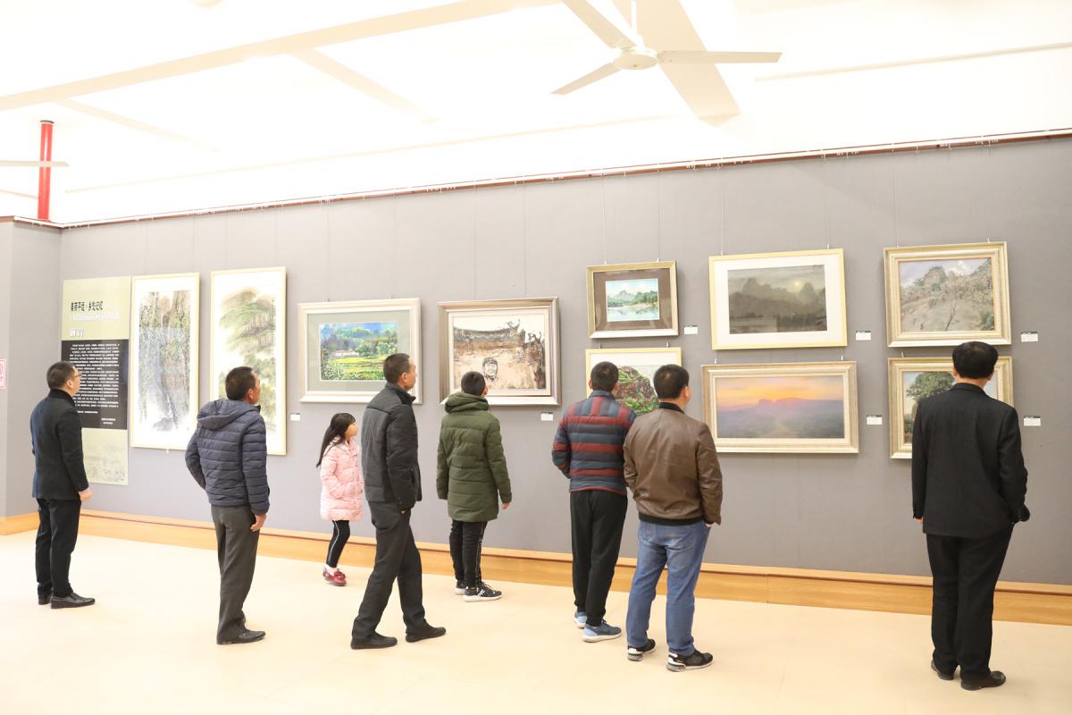平远举办客籍知名画家平远写生作品展将持续到3月19日(图1)