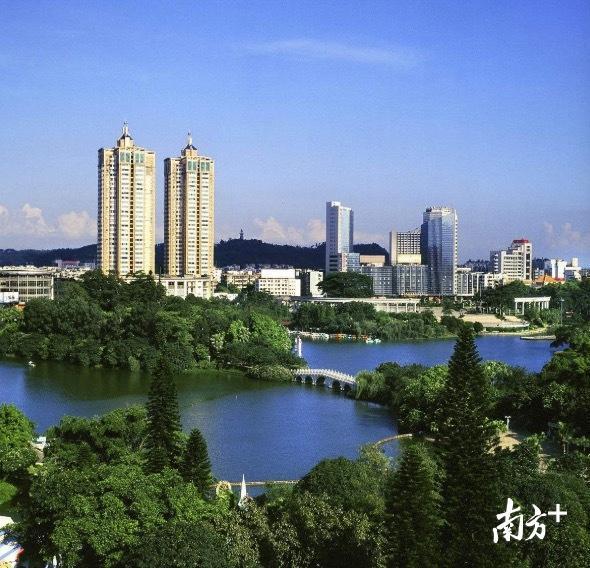江门城市美景
