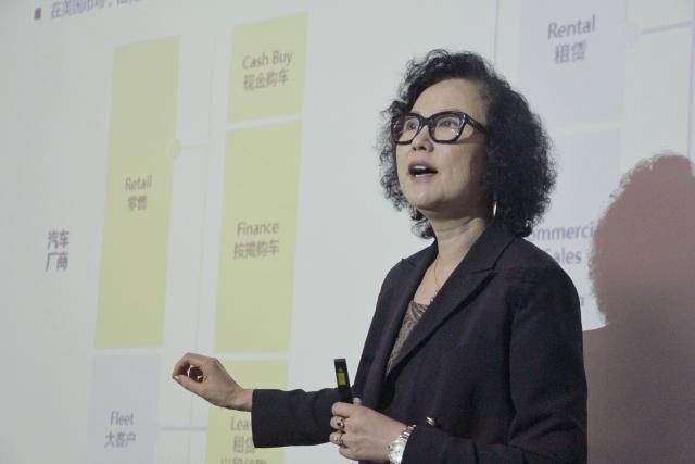 数鼎科技创始人蓬蕾(Rose PENG)分享融资租赁趋势。
