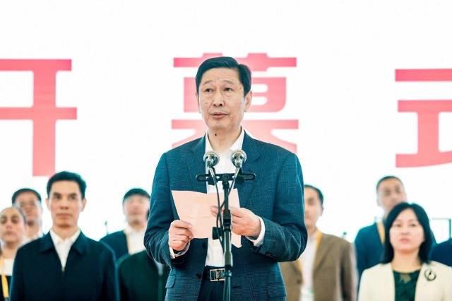农业农村部总农艺师马爱国在开幕式上致辞