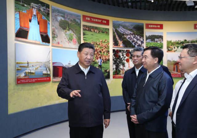 2018年10月22日至25日,习近平在广东考察调研。