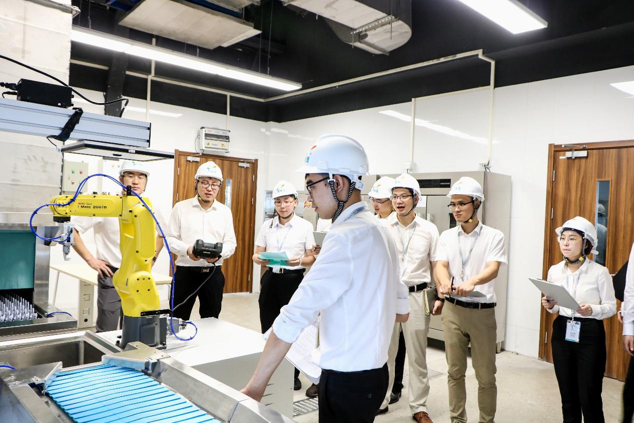 博智林机器人公司实验室 资料图片