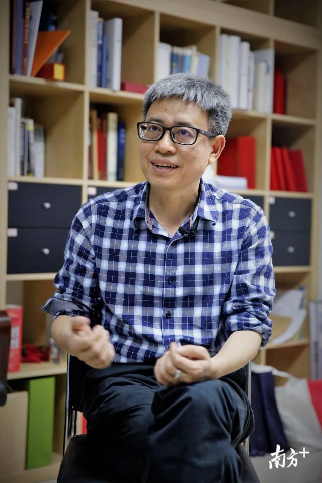 周振说,做中国人的质谱仪器,是他的梦想。南方日报记者 郑一见