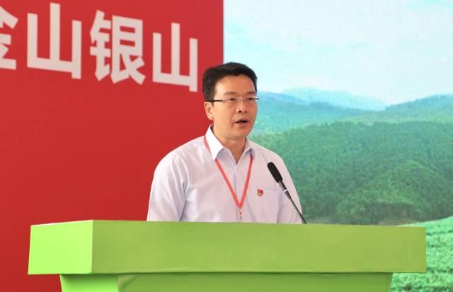 中共开平市委书记庞正华致欢迎词