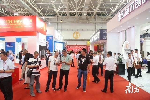 上届华南不锈钢·金属材料展览会回顾。受访者供图