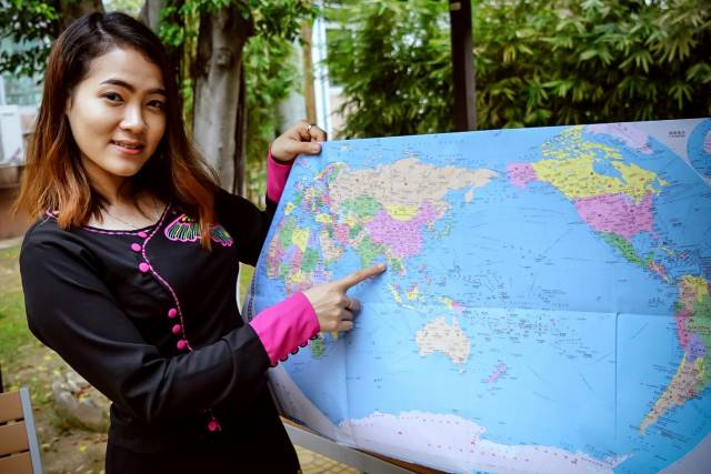 广州距离苏雪蓉的家乡缅甸仰光1900余公里。