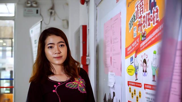 苏雪蓉在暨南大学攻读汉语国际教育专业研究生。