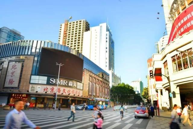 北京路。南方日报记者 肖雄摄