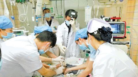 3歲女童15樓墜落危殆 在南醫三院創傷救治中心搶救脫險