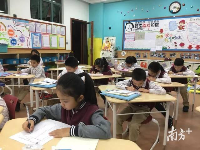 华师外校小学生。
