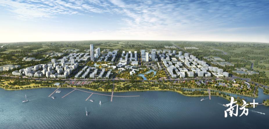 三水即将发布《三水区区域中心城市建设概念规划》。 佛山自然资源局三水分局供图