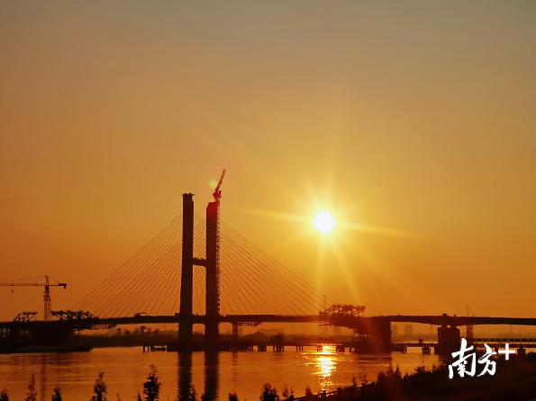 菊花湾大桥。中铁广州工程局供图