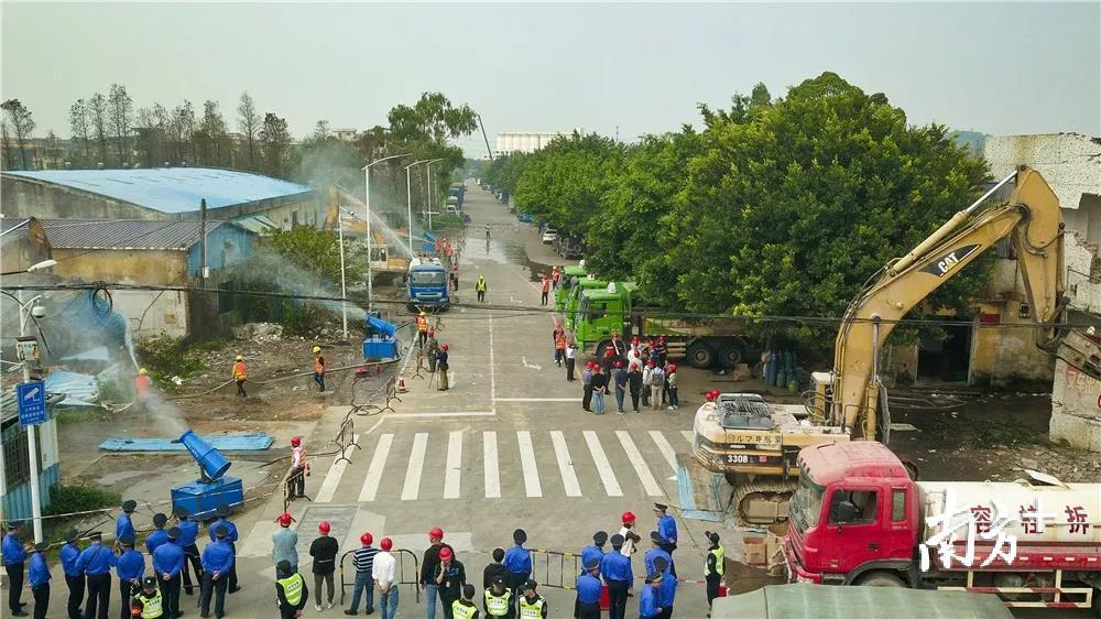 容桂加速推进村级工业园改造。容桂村改办供图