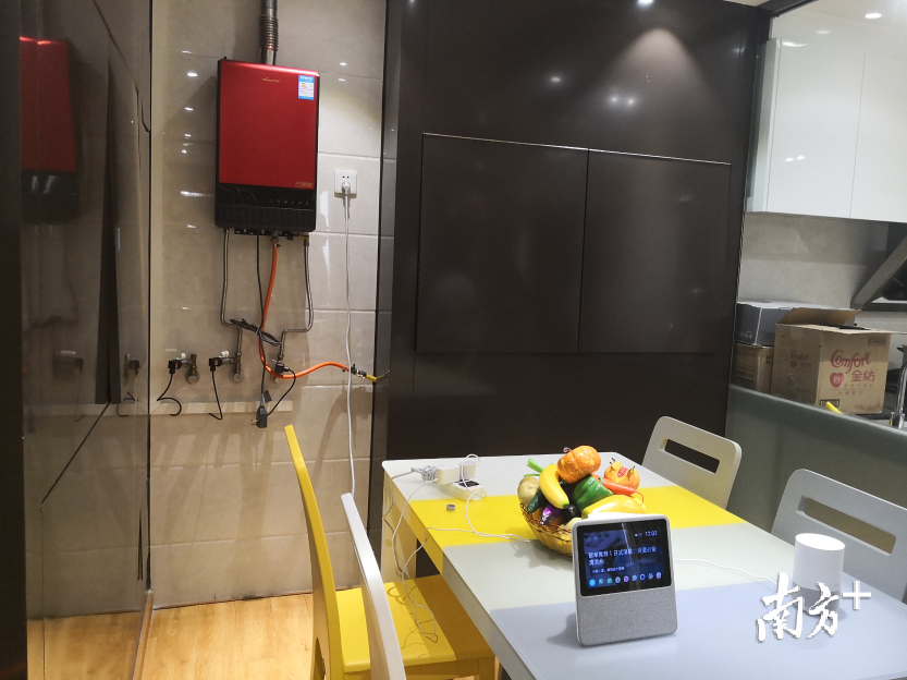 未来,万和将未来,万和将全力开发5G技术相关的产品,如5G热水器、5G供暖、5G厨房电器等,南方+记者 罗湛贤 摄