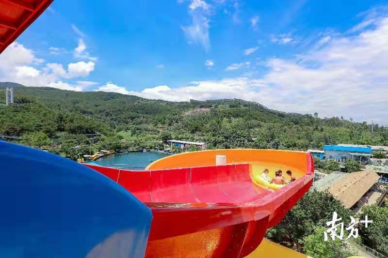 盈香生态园夏威夷水城将于7月20日对外开放。受访者供图。