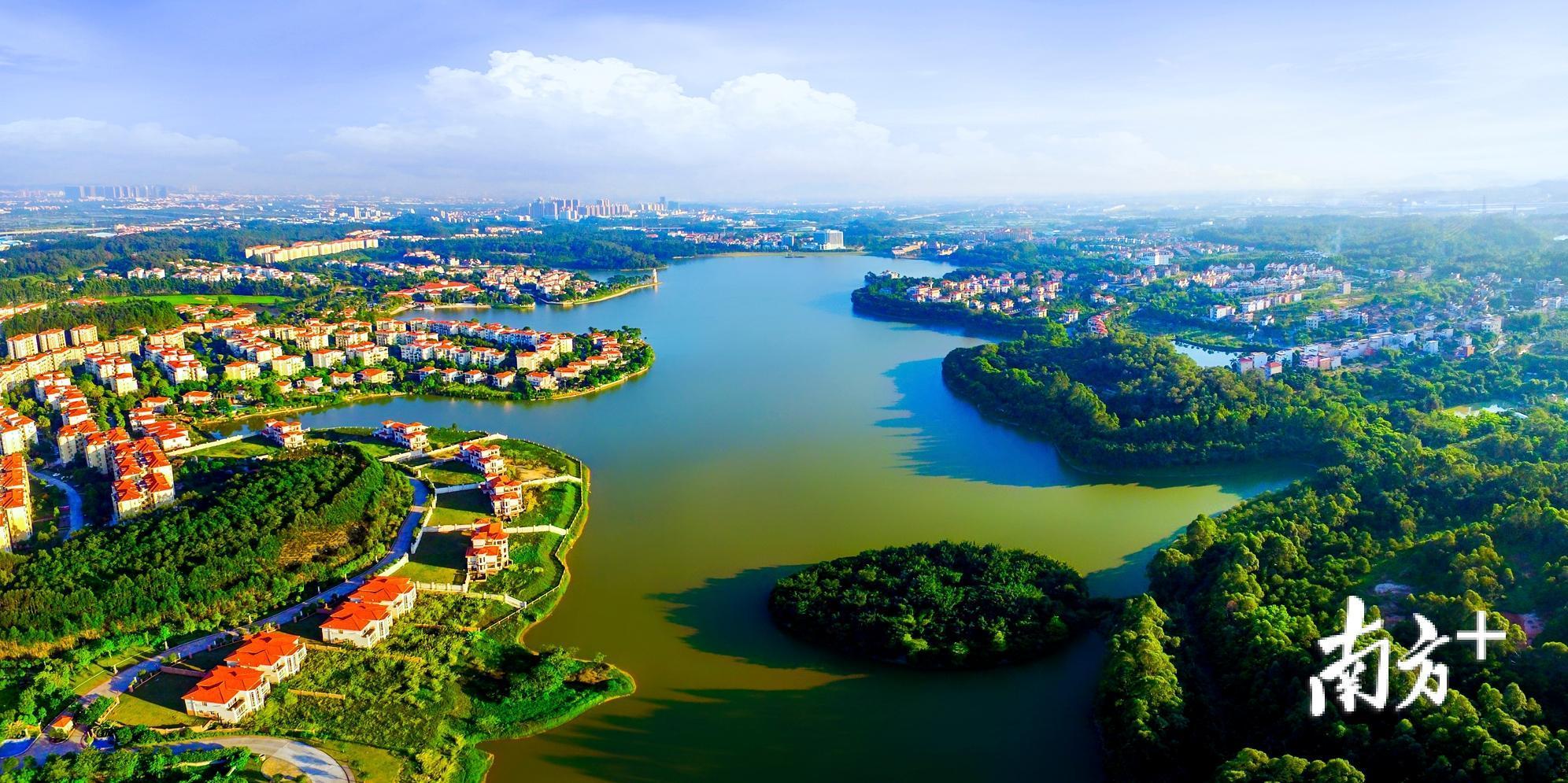 """2018年,仙湖氢谷正式启动,将力争成为中国重要的新能源汽车产业基地和氢能产业""""硅谷""""。丹灶镇宣传文体办供图"""