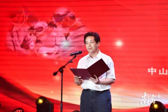 南方报业传媒[乐天彩票]开奖号码副总编辑、《南方》杂志社社长陈广腾。