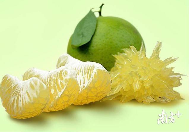 丹霞贡柑肉脆化渣、清甜香蜜,深受消费者青睐。