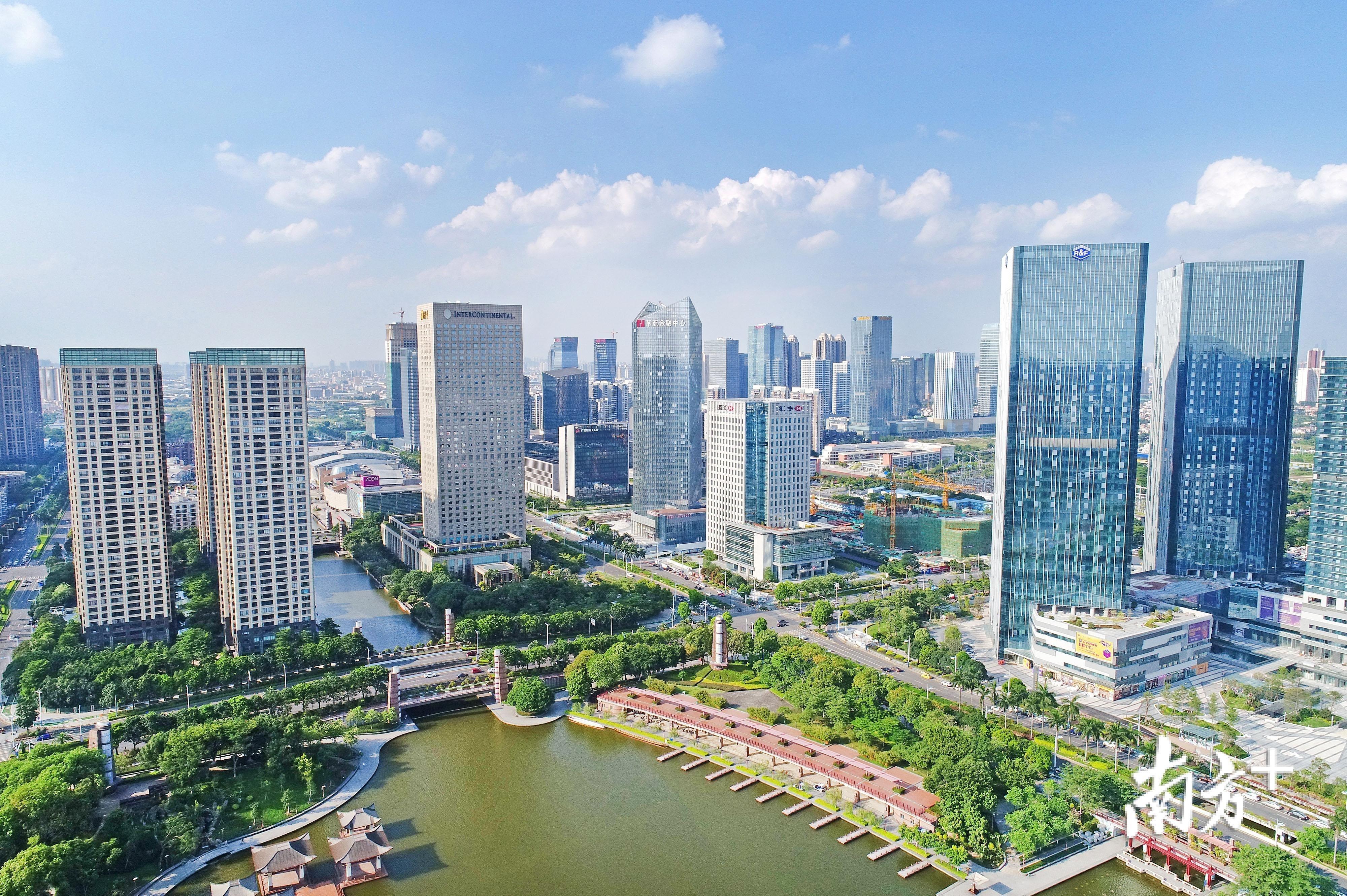 图为位于南海的广东金融高新区。南方+记者 戴嘉信 摄