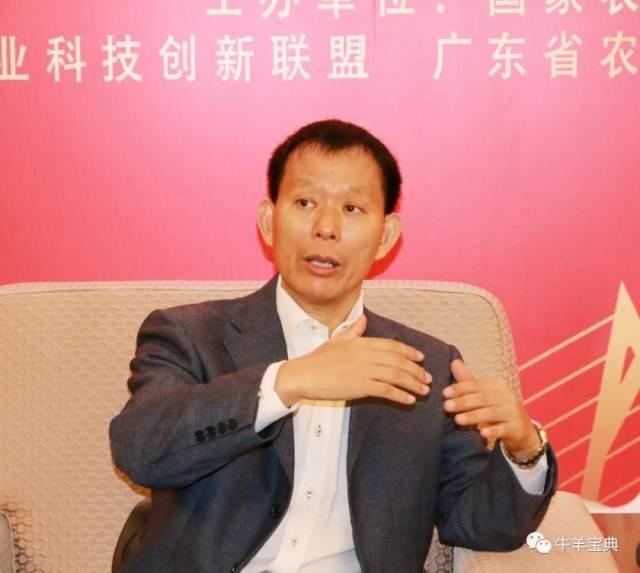 国家奶业科技创新联盟理事长王加启