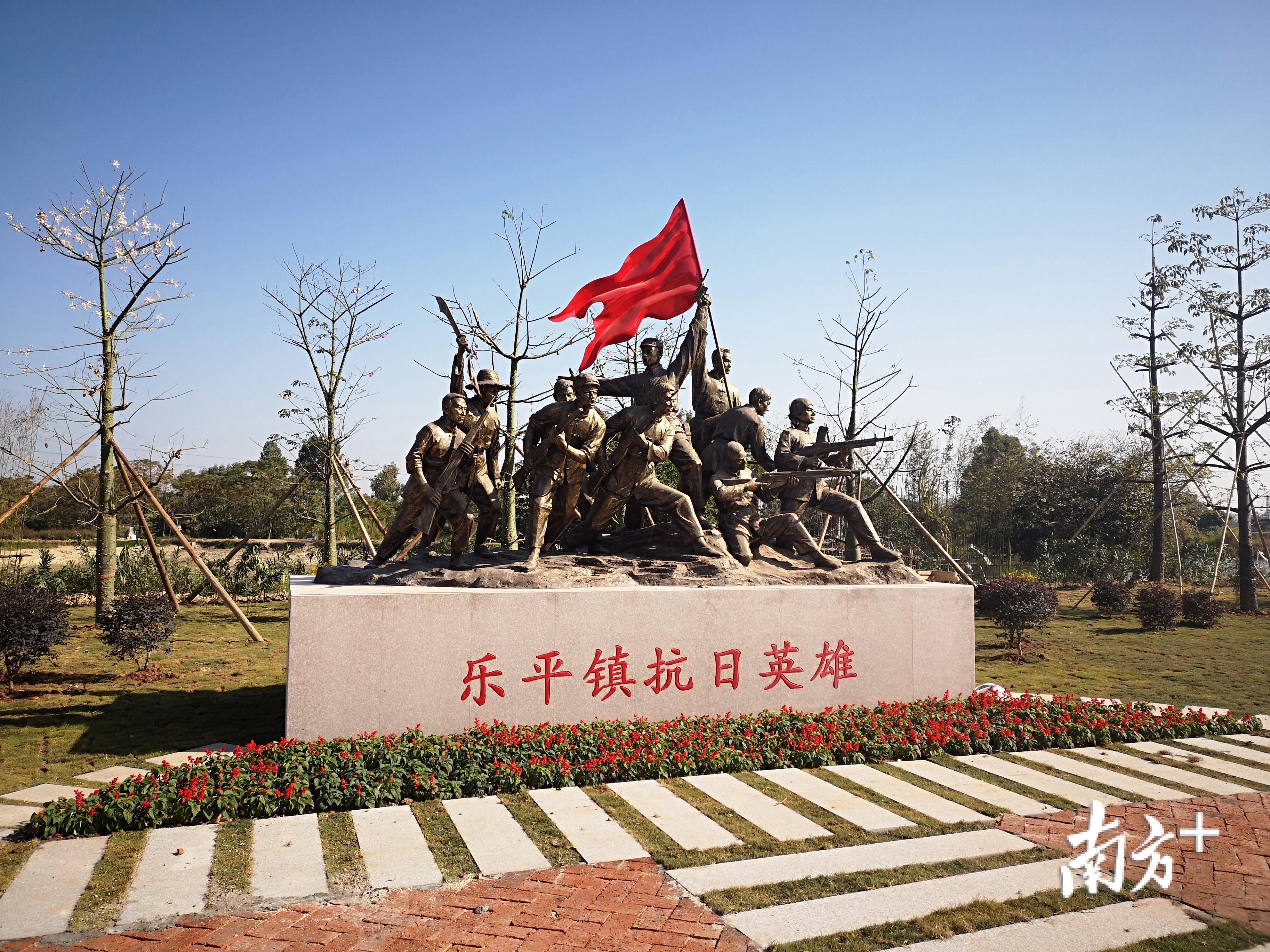 礼运路深挖本土历史人文元素,总结提炼出冠军文化、儒家文化、红色文化、广府文化。卢浩能 摄