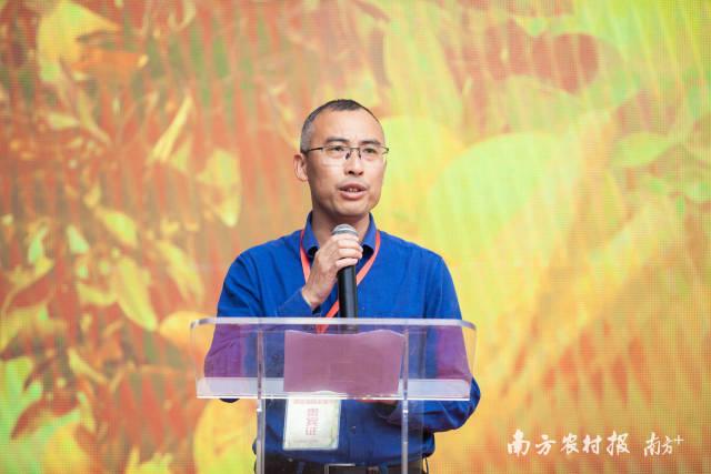 澄迈县人民政府副县长何春龙致辞。