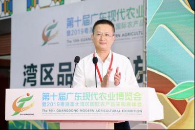 梅州市农业农村局副局长陈爱东推介梅州柚