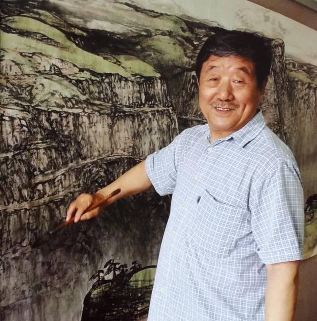 艺术家、广州美术学院教授郝鹤君(又名郝学仁)