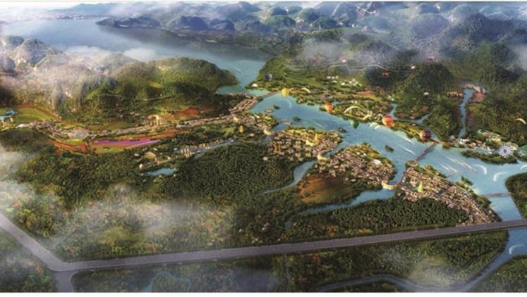 """蓝图徐徐展开,支撑大岭山未来城市发展的""""四梁八柱""""是什么?"""