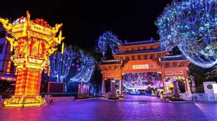 惠城区西湖灯会将展出52组花灯,设2条免费公交接驳线(附攻略)