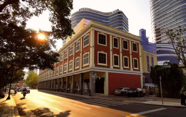 广州正在以高标准、高起点筹建的广州华侨博物馆