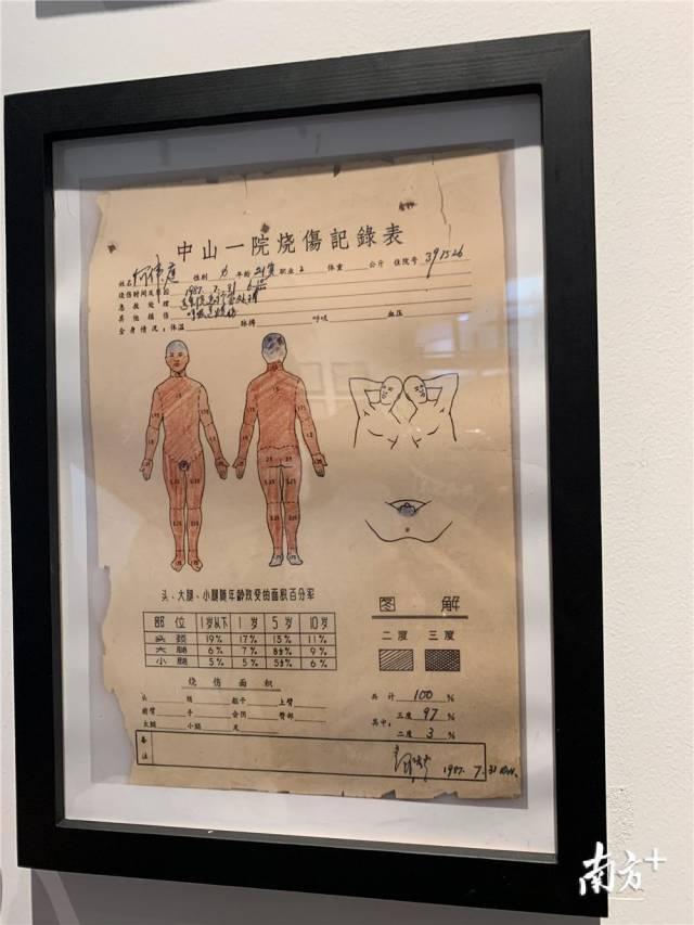 首次展出一批手术老病案