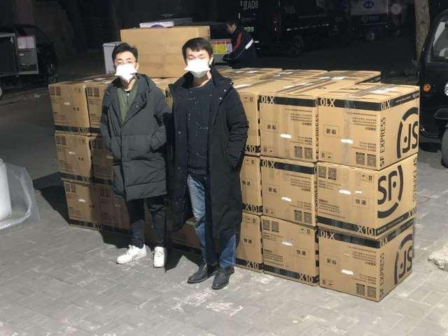 奥园从境内外采购调运40万只专业医用口罩驰援武汉