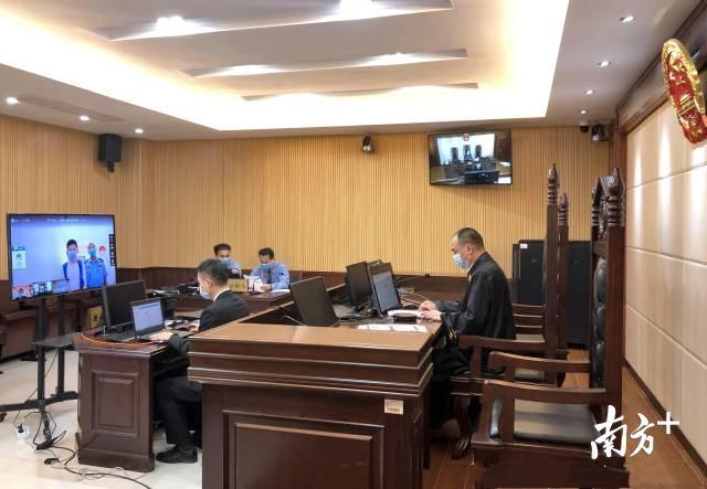 高州市人民法院法官线上庭审口罩诈骗案。