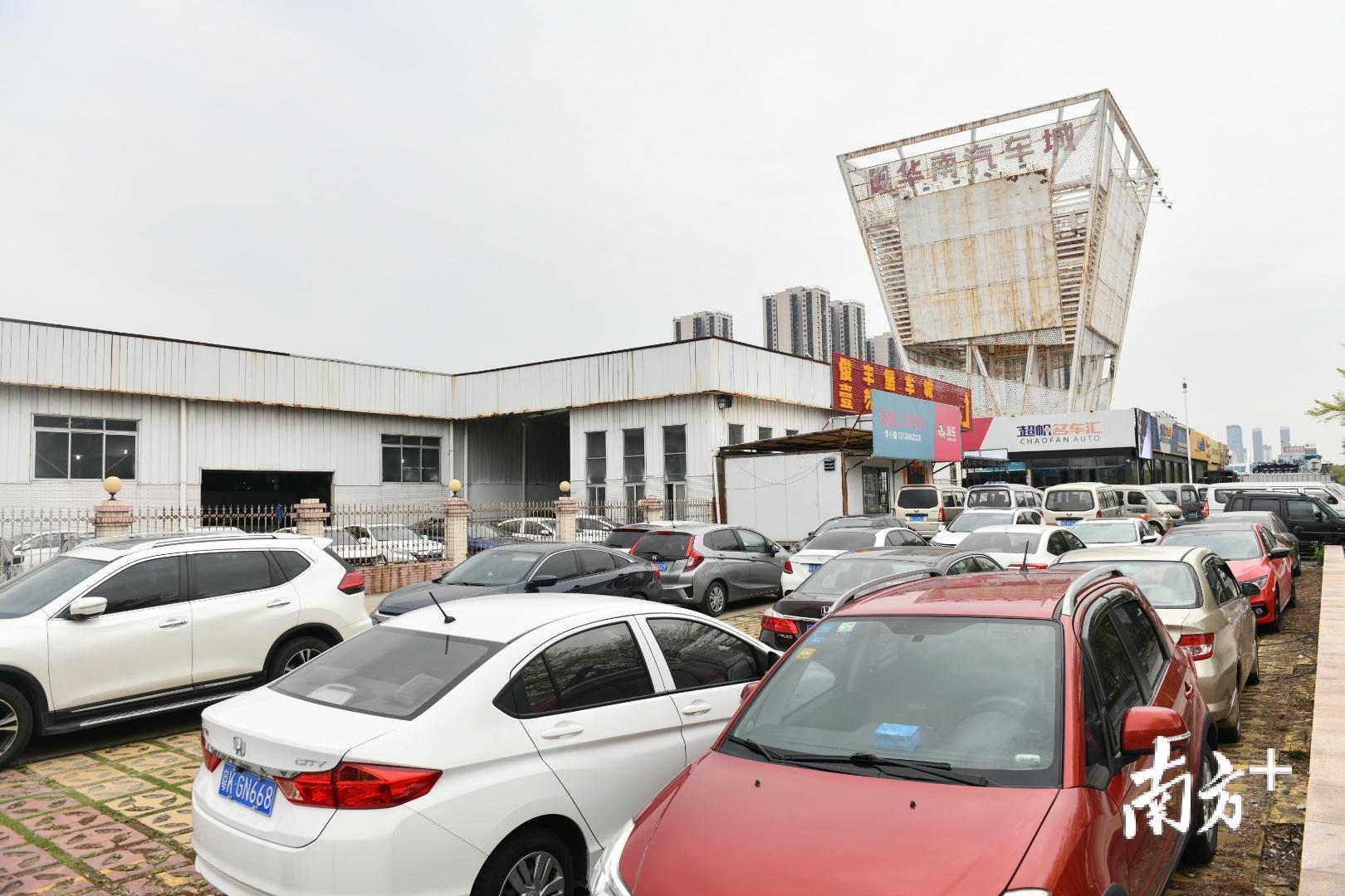建设于1999年的华南汽车城是爱车小镇的前身。戴嘉信 摄