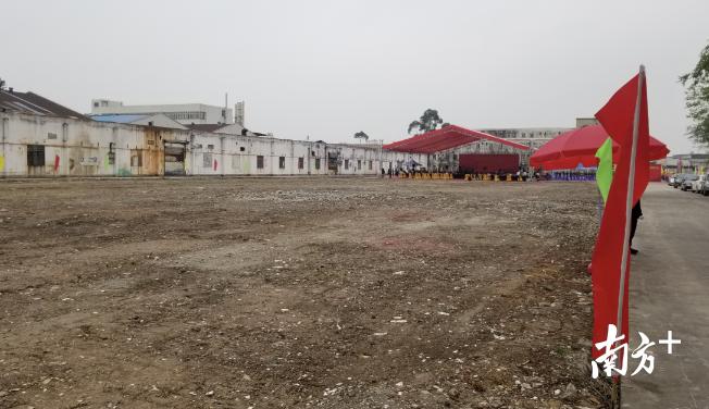 广东成德电子科技股份有限公司高端电子电路研发制造项目所在地的一角。羊建溶 摄
