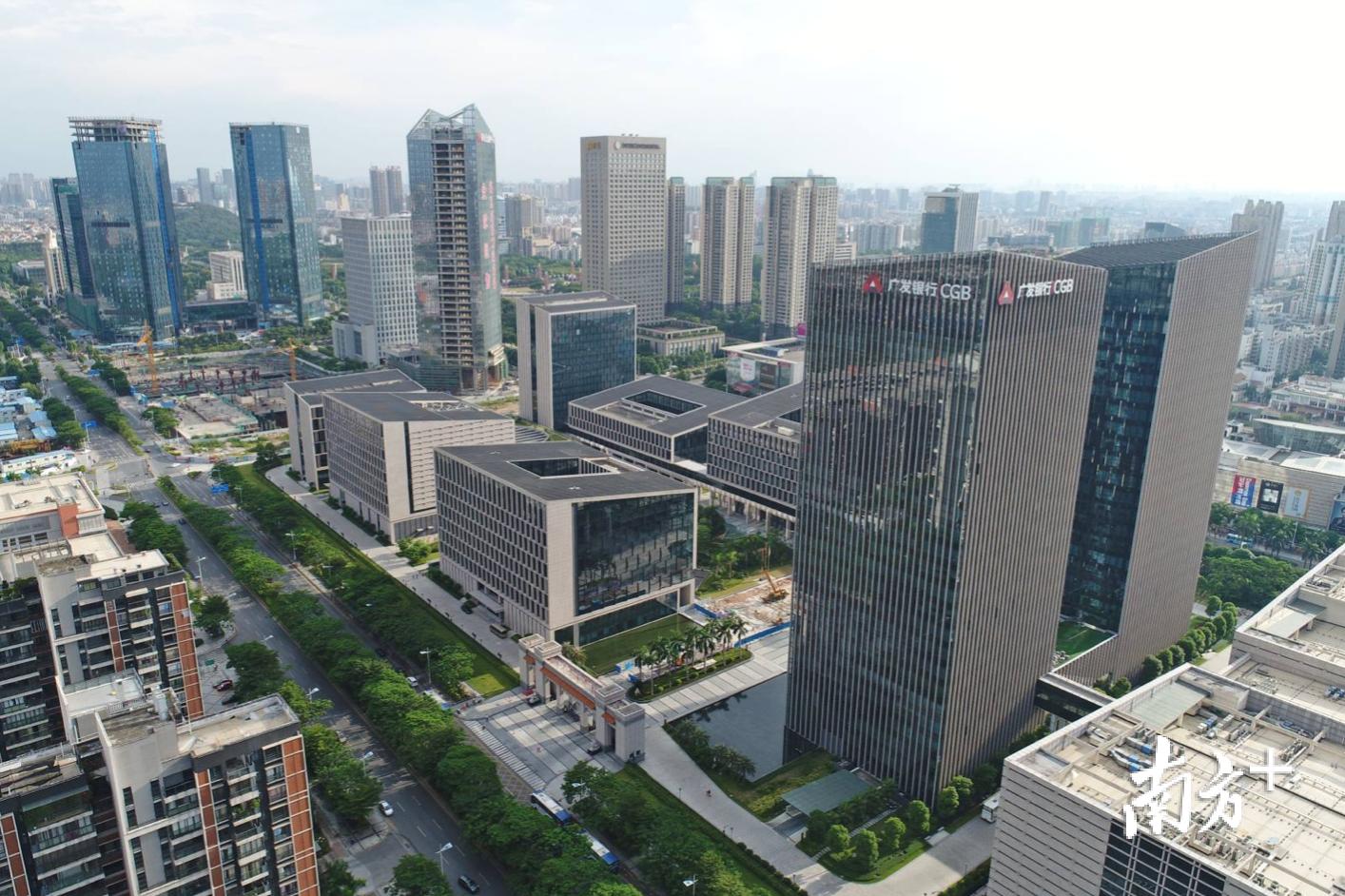 广东金融高新区。戴嘉信摄