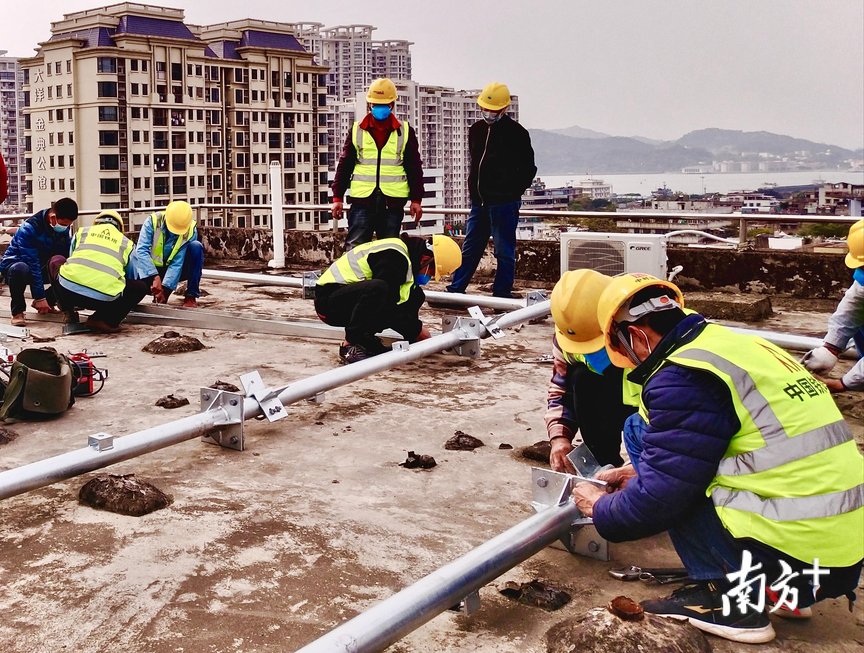 汕头计划至2022年底实现城乡5G全覆盖。受访者供图