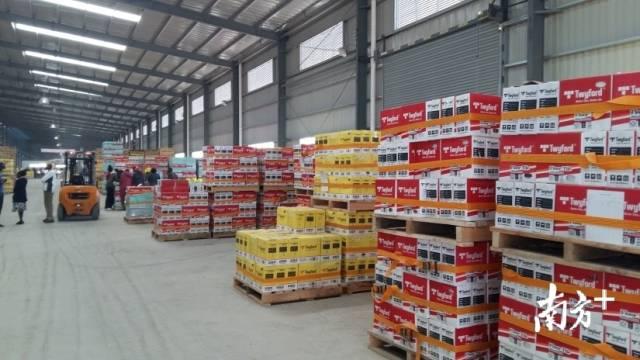 科达洁能与森大在非洲合作投建的陶瓷厂。受访企业供图