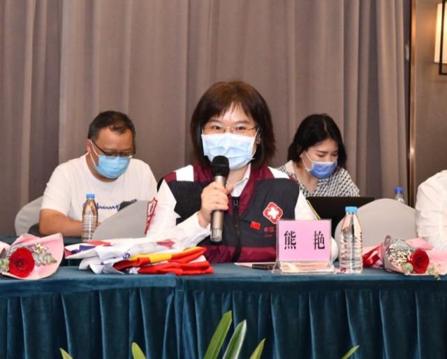 中国援塞尔维亚抗疫专家熊艳教授发言