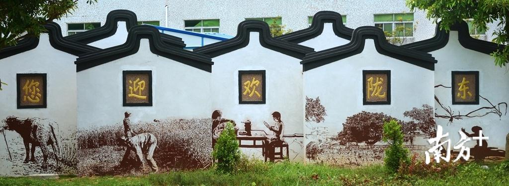 濠江乡村美丽宜居。