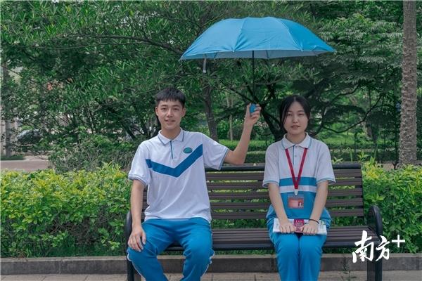 """让我们共同努力,为孩子复学撑起心灵的""""防护伞""""。"""