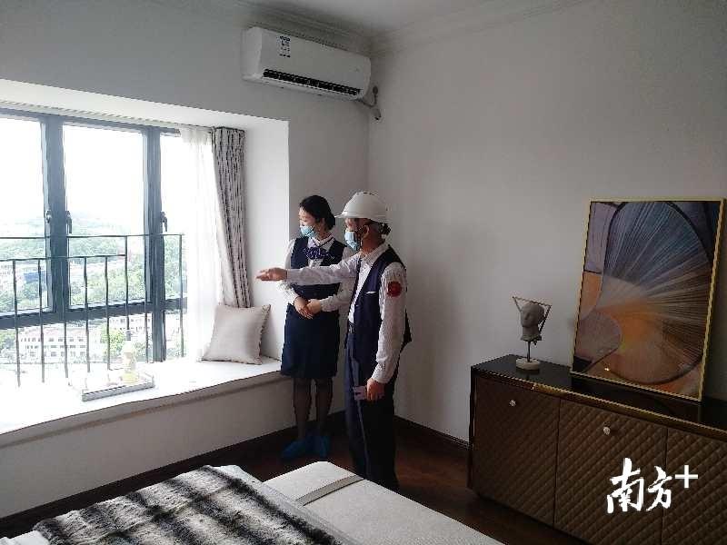 黄埔区茅岗路以西城中村改造项目首期复建安置房精装实景样板间。