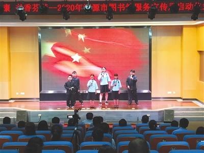 一首《青春中国》让童心齐向党,共颂爱国情。 许竞楠 摄