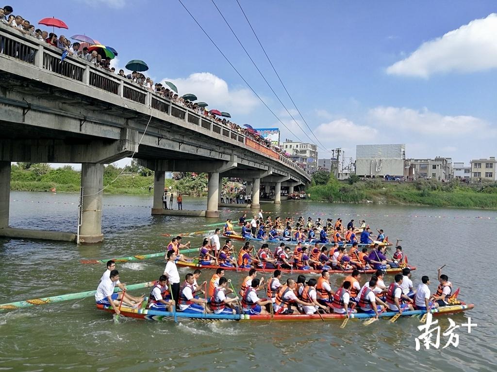 练江水质持续变好,回到练江划龙舟不再只是愿景。
