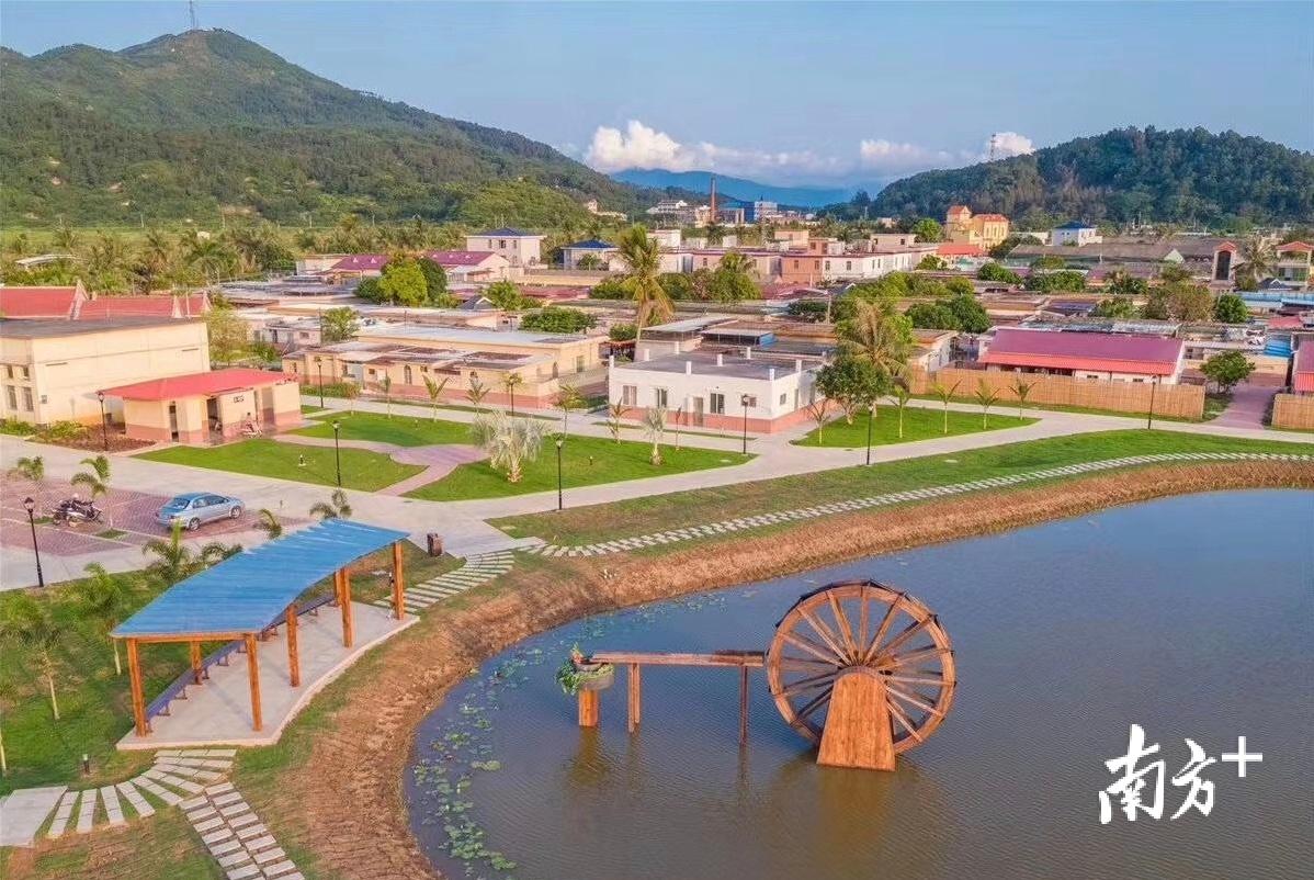 海宴镇五丰村是台山打造的美丽乡村示范样板。周勉 摄